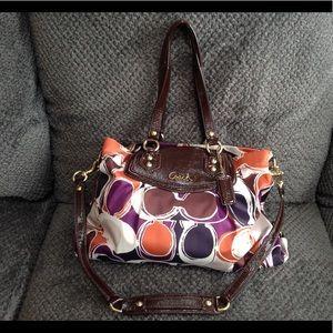 Coach Ashley Sateen bag